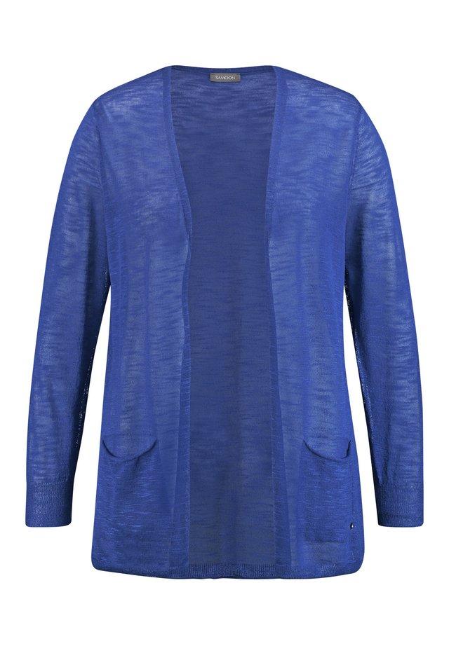 Vest - peacock blue
