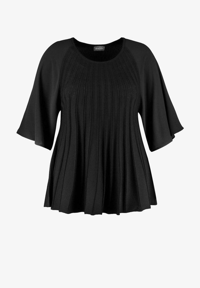 AUSGESTELLTER MIT CHIF - Pullover - black