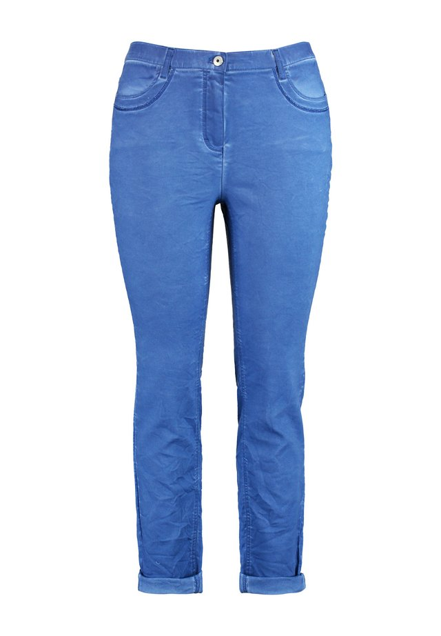 Jean slim - peacock blue