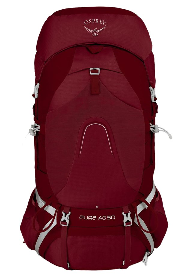Hiking rucksack - gamma red