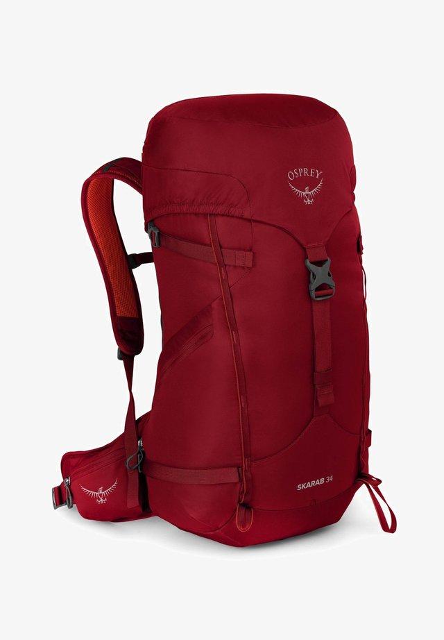 SKARAB  - Hiking rucksack - mystic red