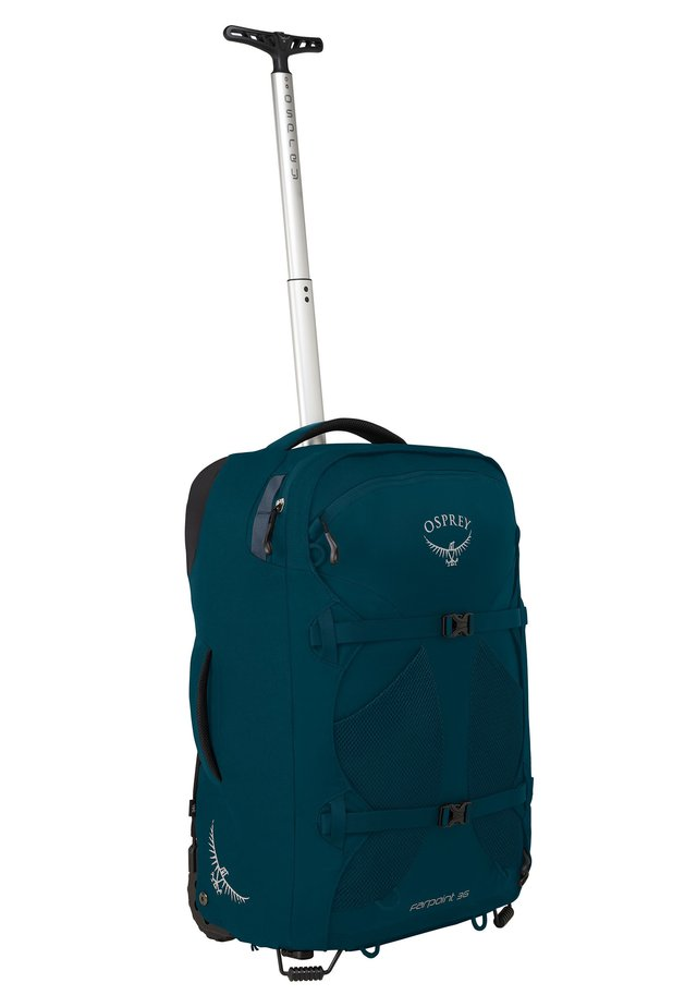 FARPOINT 36 - Wheeled suitcase - petrol blue