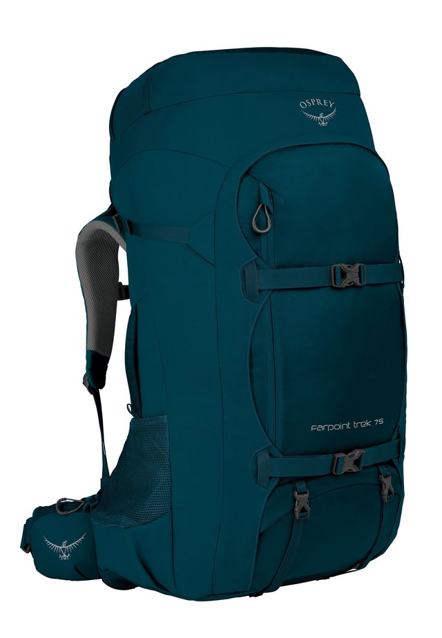 FARPOINT TREK 75 - Reppu - petrol blue
