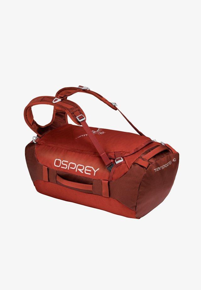 TRANSPORTER 40 - Weekend bag - ruffian red