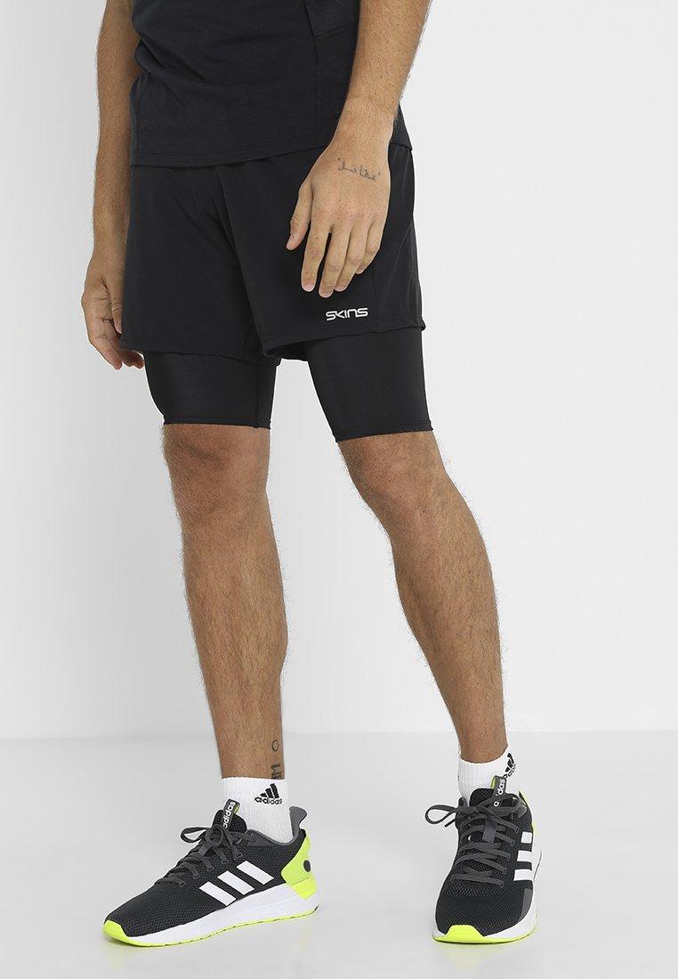 Skins - DNAMIC PRIMARY SUPERPOSE HALF  - Short de sport - black