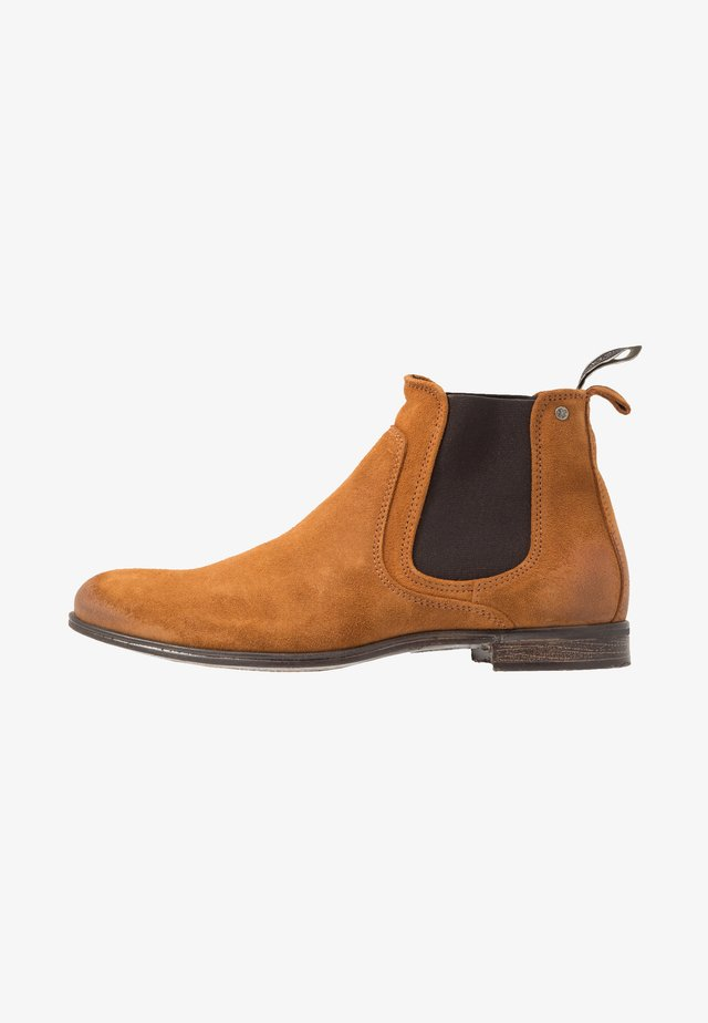 CUMBERLAND - Classic ankle boots - cognac