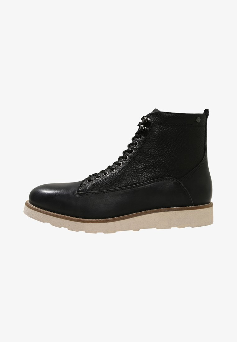 Sneaky Steve - QUICK - Lace-up ankle boots - black