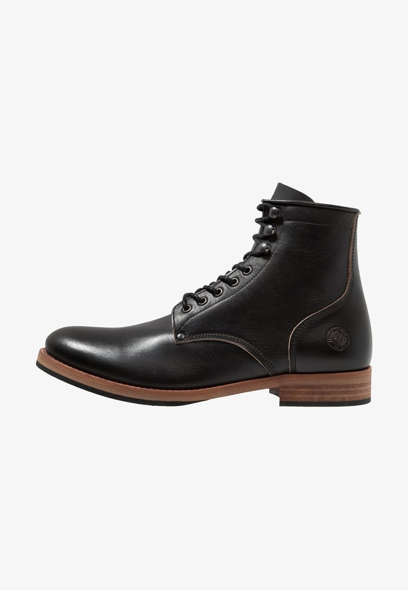 Sneaky Steve - BLINDERS - Lace-up ankle boots - black