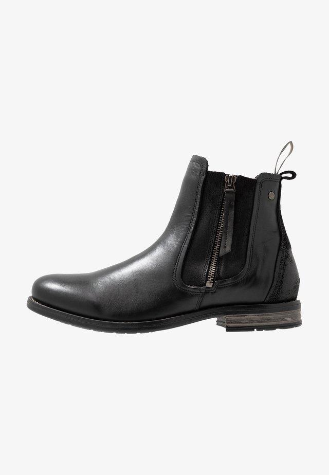 CONCRETE - Korte laarzen - black