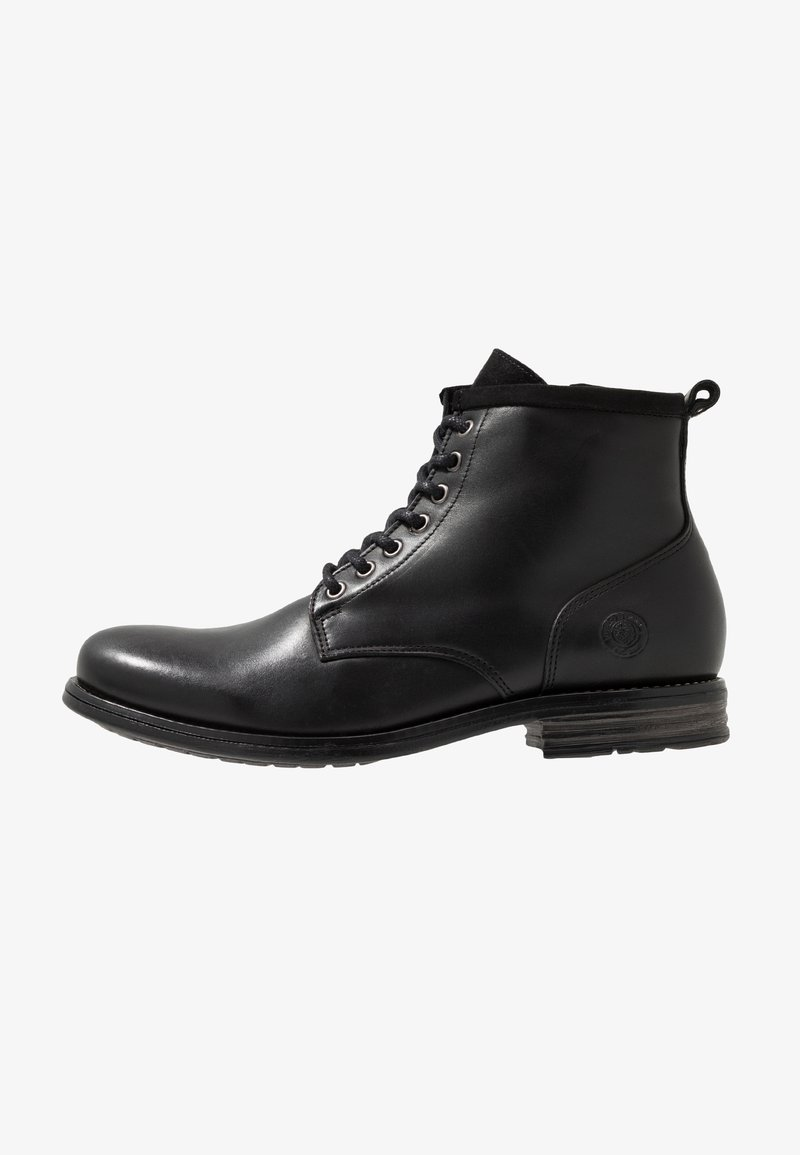 Sneaky Steve - PEAKER - Lace-up ankle boots - black