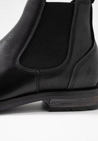 Sneaky Steve - CLOSER - Kotníkové boty - black - 5
