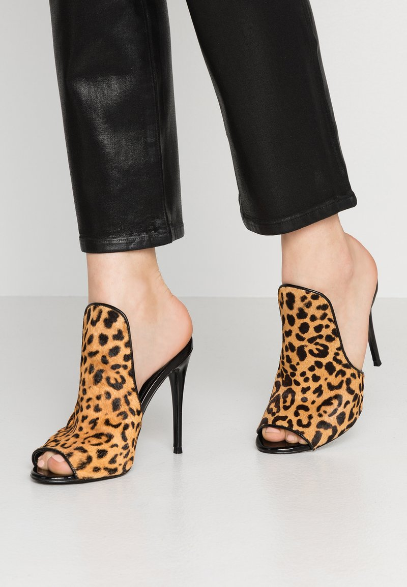Steve Madden - SINFUL - Heeled mules - multicolor