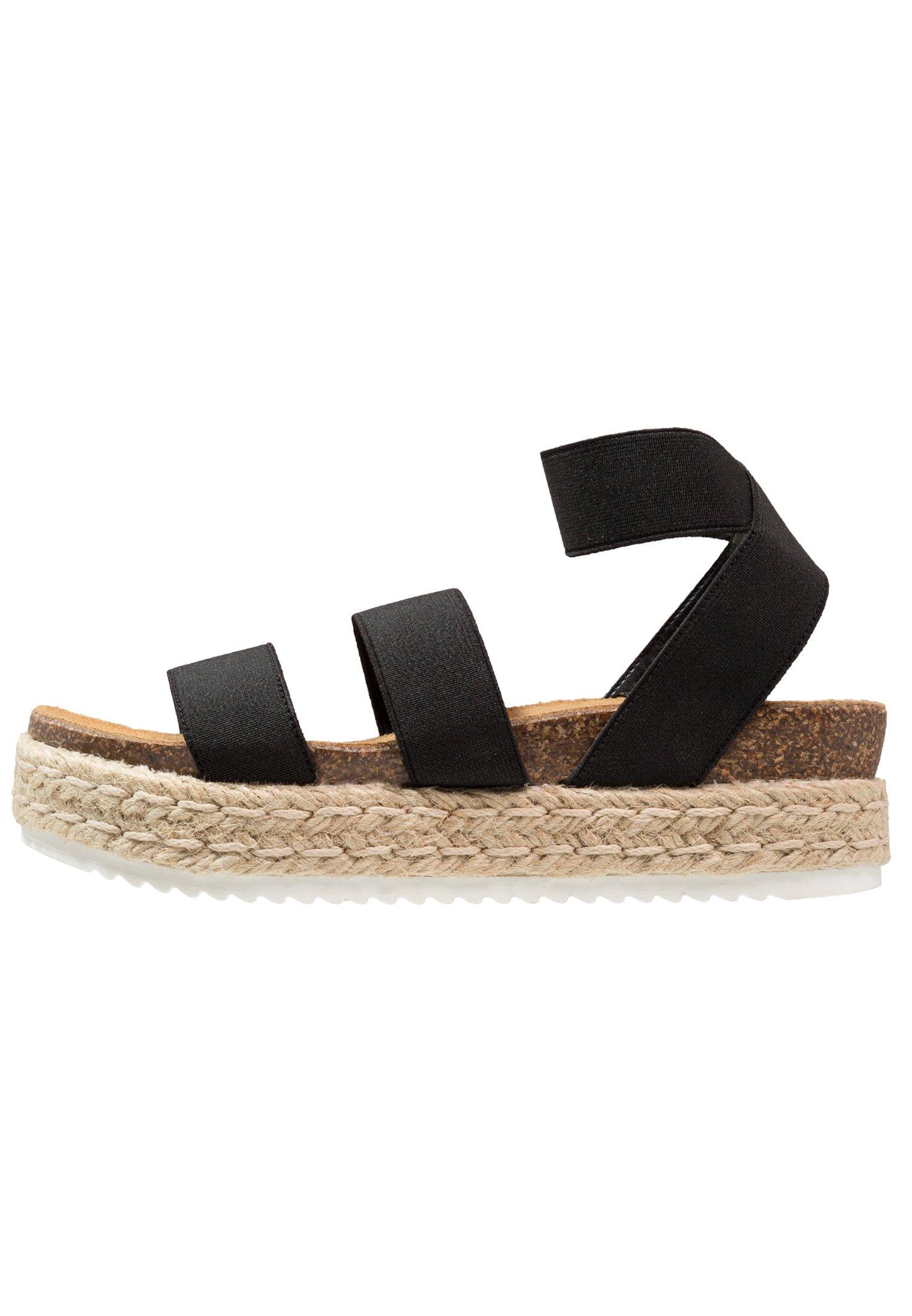 Steve Madden KIMMIE Korkeakorkoiset sandaalit black