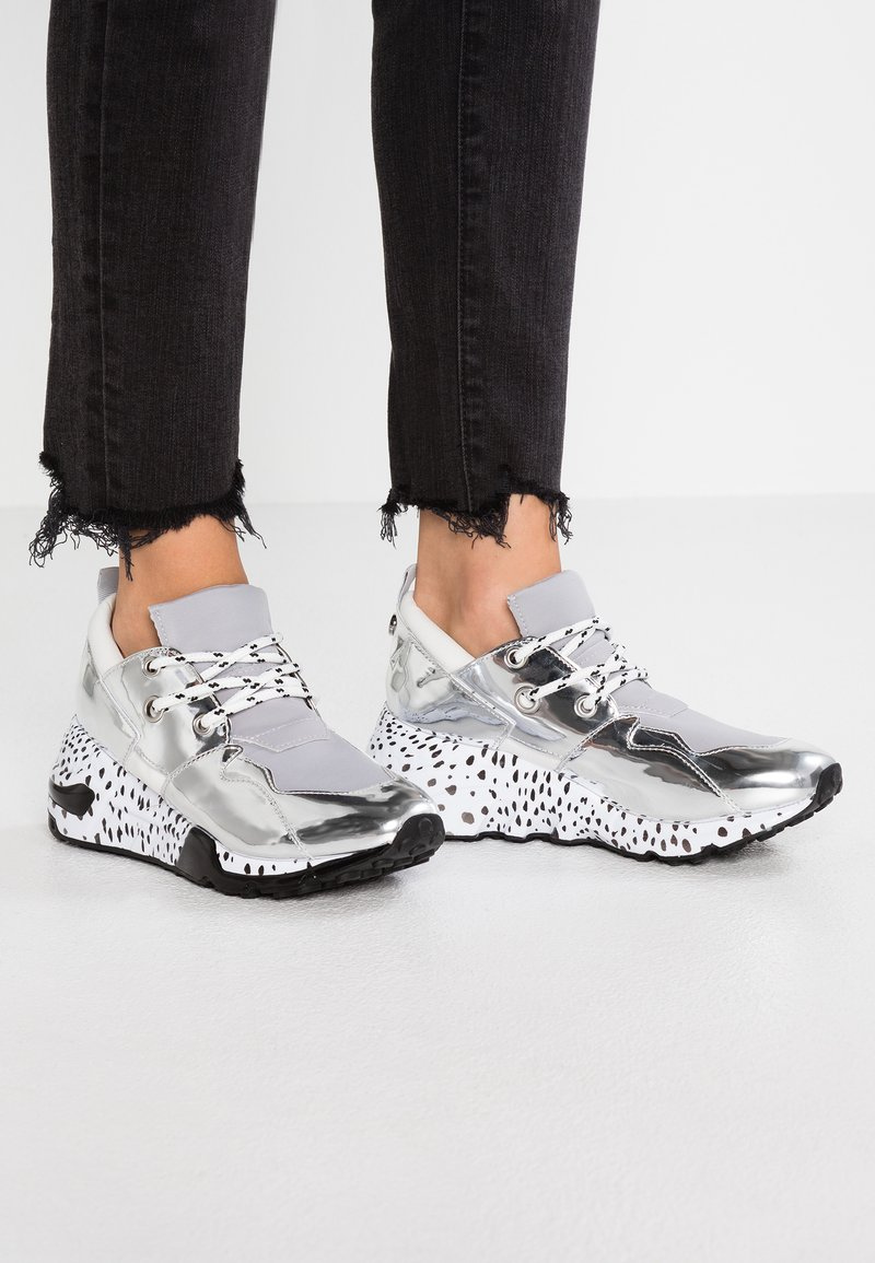 Steve Madden - CLIFF - Trainers - silver