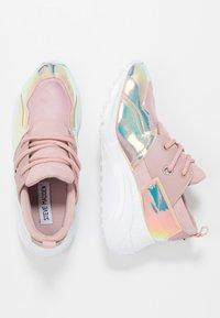 Steve Madden - CLIFF - Sneakers - blush/multicolor - 3