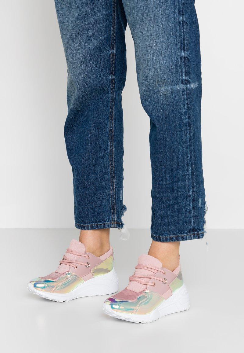 Steve Madden - CLIFF - Sneakers - blush/multicolor