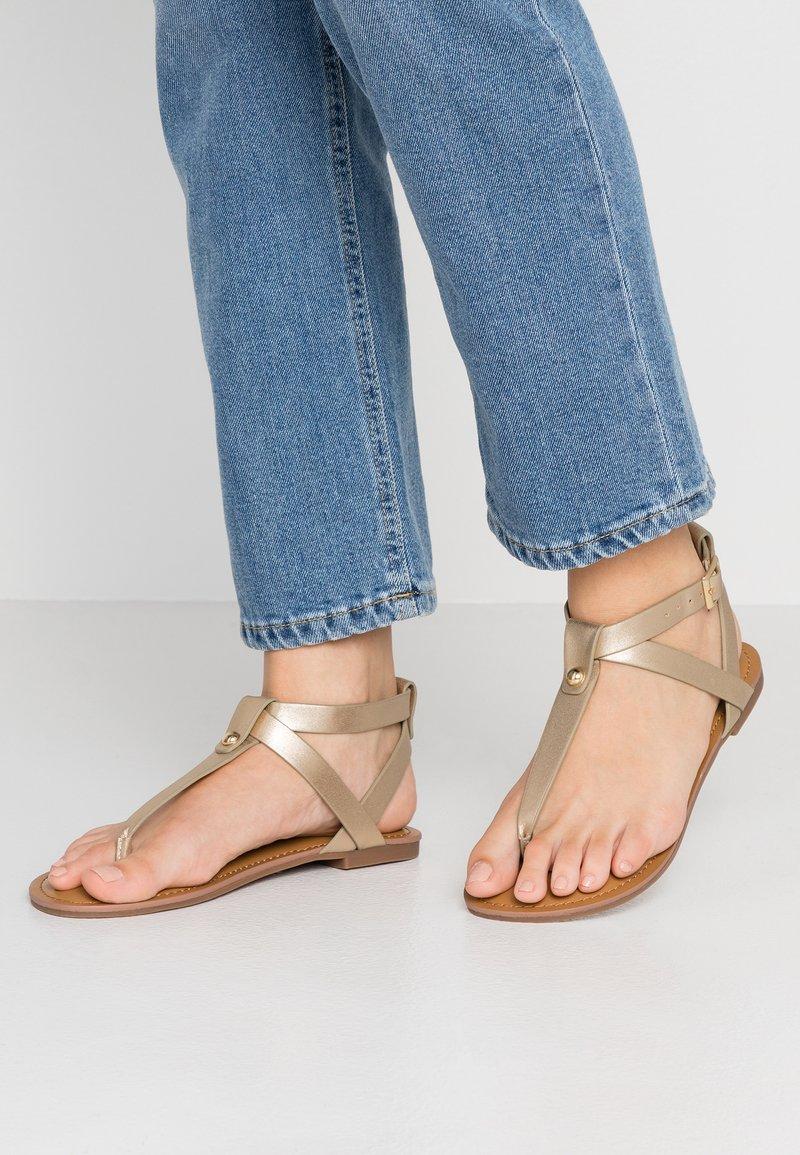 Steve Madden - HIDDEN - T-bar sandals - gold