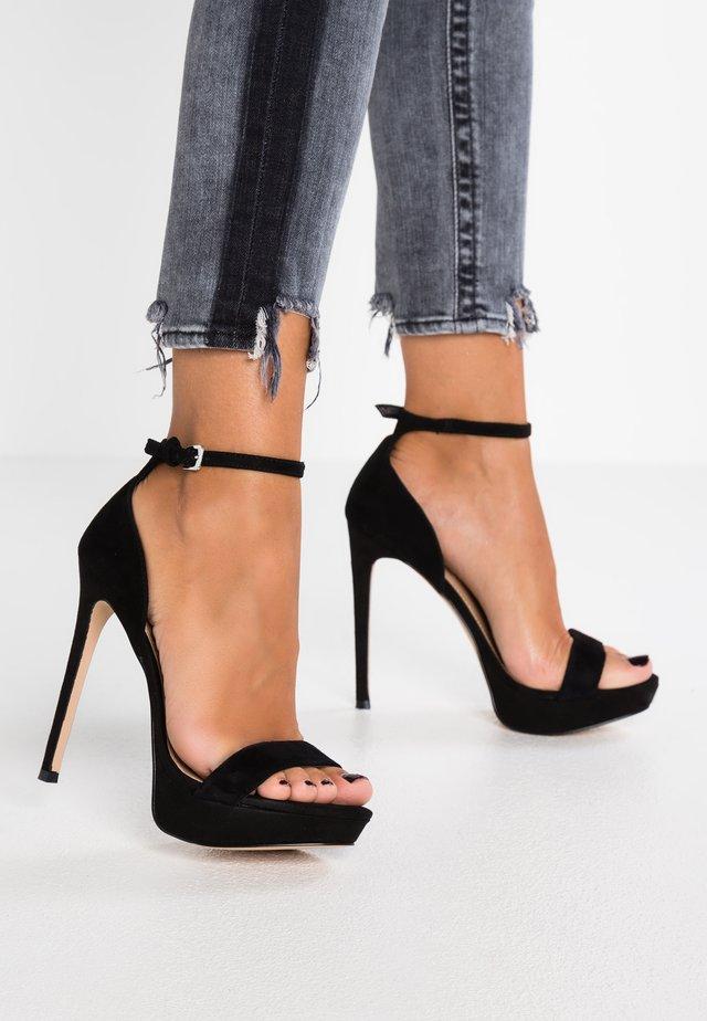 SARAH - Højhælede sandaletter / Højhælede sandaler - black