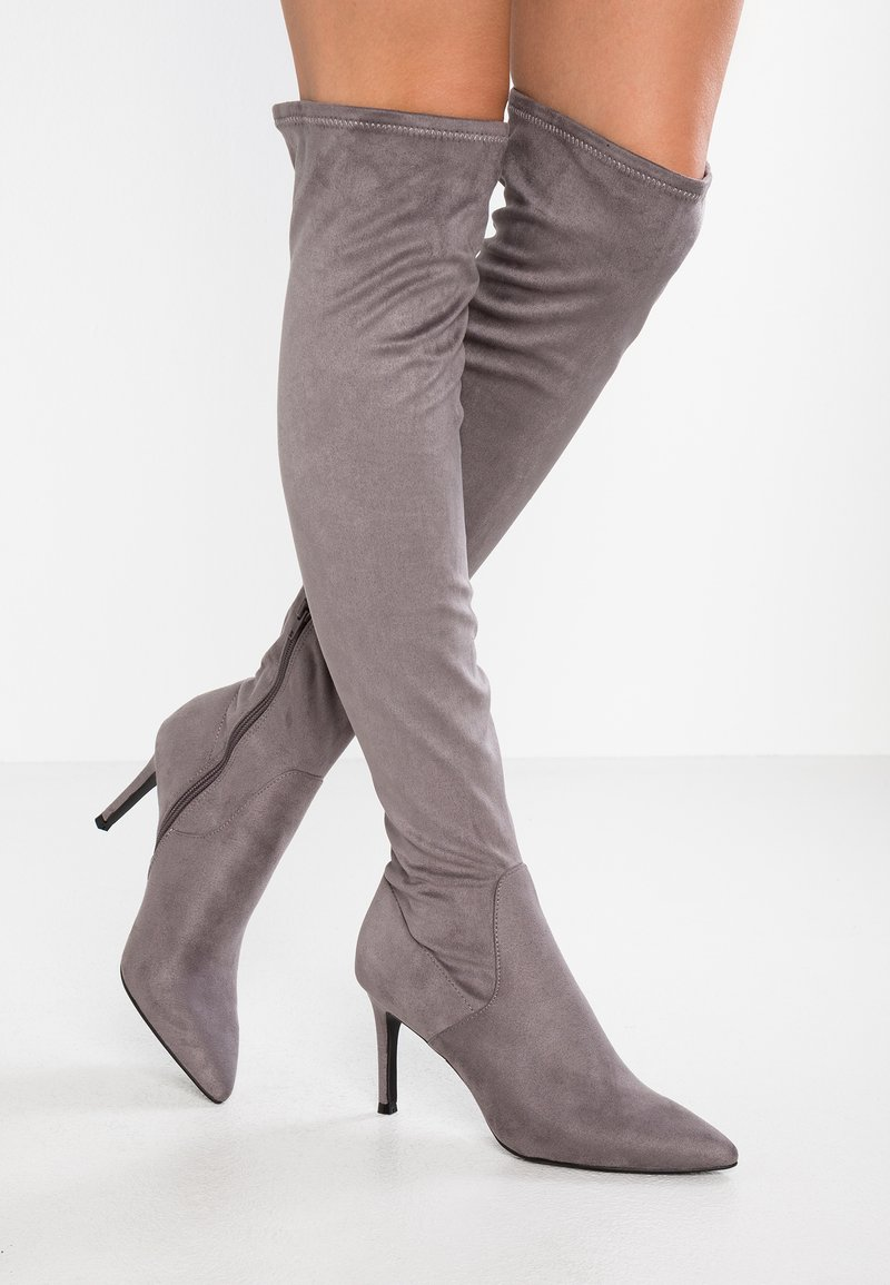 Steve Madden - LACIE - Over-the-knee boots - grey
