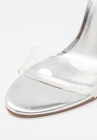 Steve Madden - SEEME - Sandaler med høye hæler - silver - 2