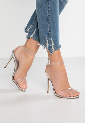 SEEME - High heeled sandals - silver