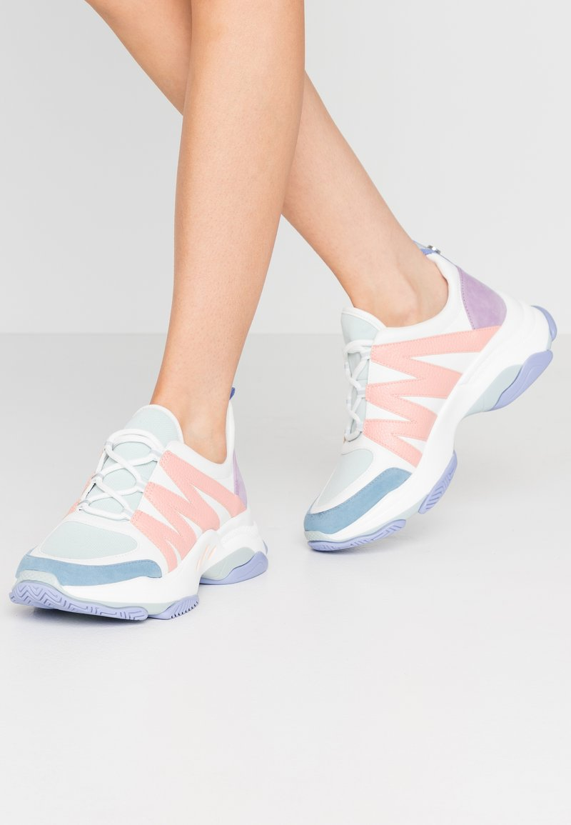 Steve Madden - CREDIT - Sneakers - mint/multicolor