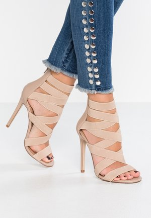 STRIVE - High heeled sandals - blush