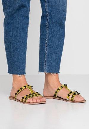 ENNY - Pantofle - yellow/multicolor
