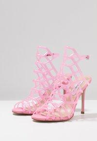Steve Madden - SCORE - High heeled sandals - pink - 4