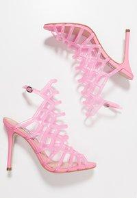 Steve Madden - SCORE - High heeled sandals - pink - 3