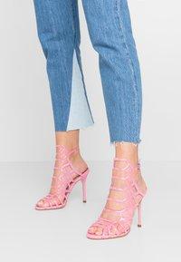 Steve Madden - SCORE - High heeled sandals - pink - 0