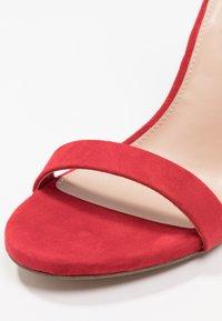Steve Madden - MOVER - Sandaler med høye hæler - red - 2