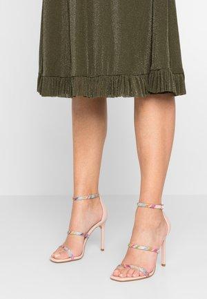 ELIANA - High heeled sandals - blush/multicolor