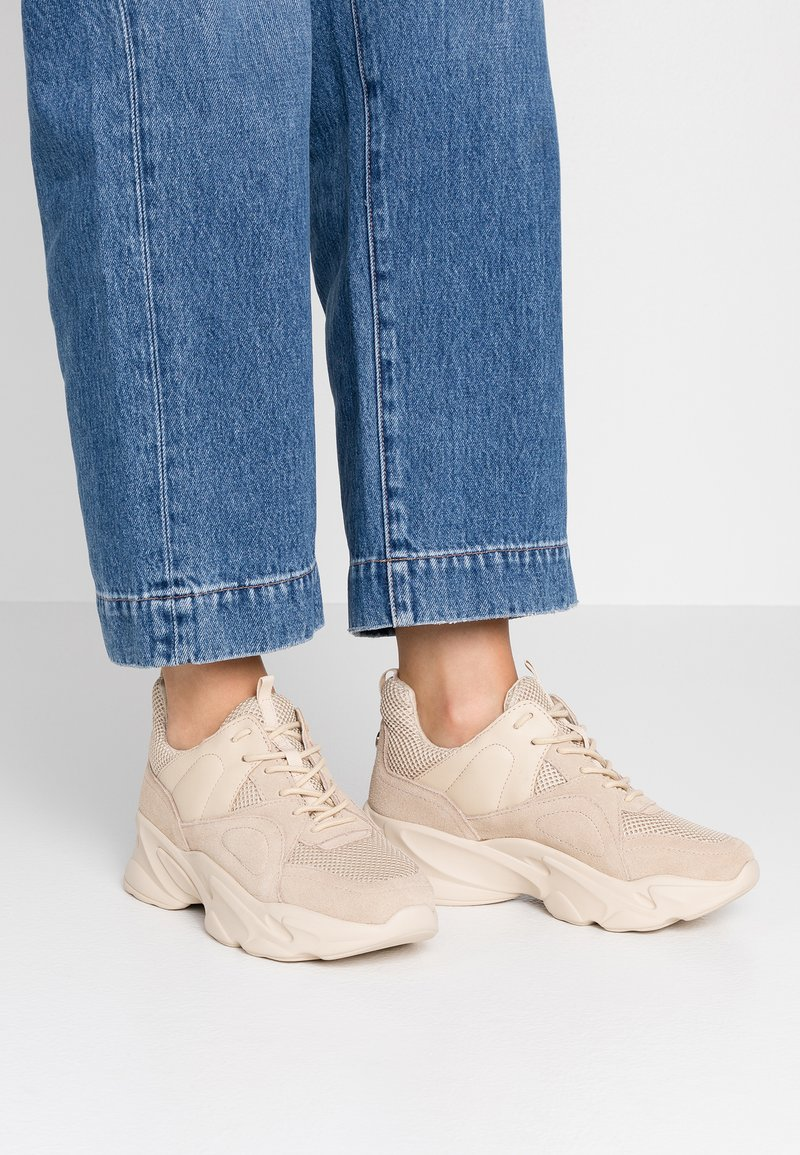 Steve Madden - MOVEMENT - Sneakers - beige