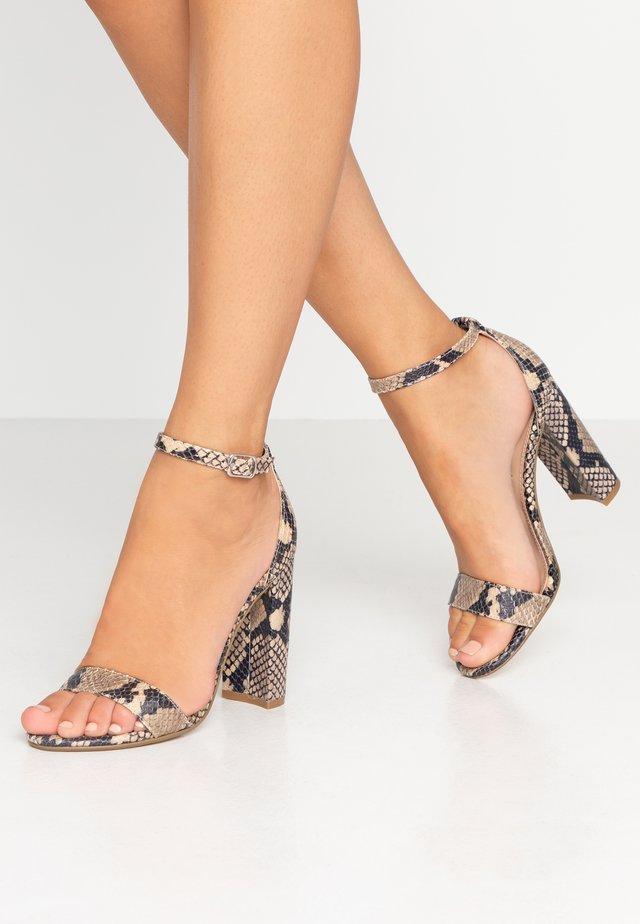 CARRSON - High Heel Sandalette - tan