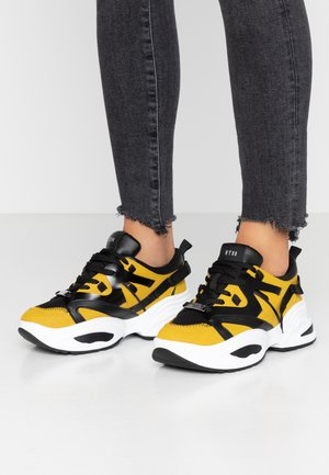 Sneakers laag - yellow/multicolor