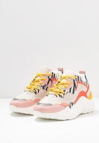 Steve Madden - ANTONIA - Sneakers - coral/multicolor - 4