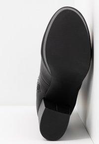 Steve Madden - GOTHAM - Laarzen met hoge hak - black paris - 6