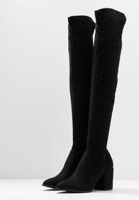 Steve Madden - JANEY - Over-the-knee boots - black - 4