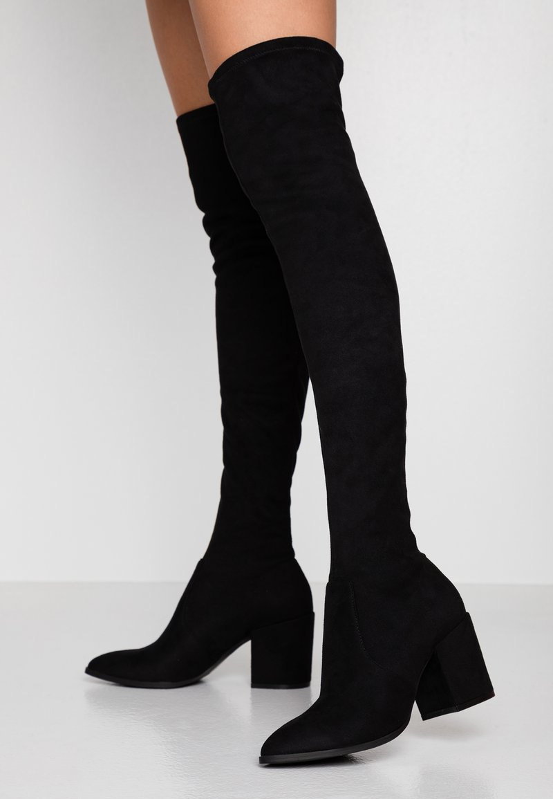 Steve Madden - JANEY - Over-the-knee boots - black