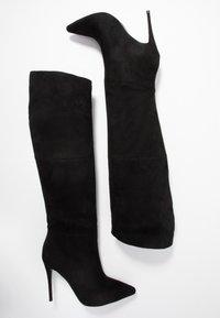 Steve Madden - DAKOTA - Højhælede støvler - black - 3