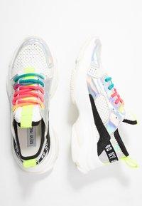 Steve Madden - AJAX - Sneaker low - white/multicolor - 3