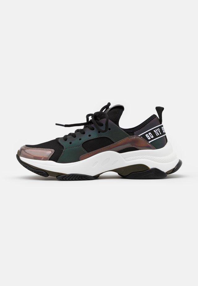 AJAX - Sneakersy niskie - black metallicc