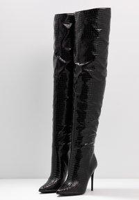 Steve Madden - HARLOW - High heeled boots - black - 4