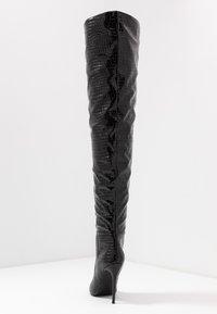 Steve Madden - HARLOW - High heeled boots - black - 5