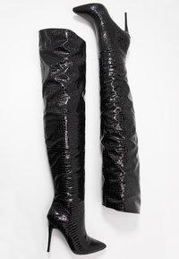 Steve Madden - HARLOW - High heeled boots - black - 3