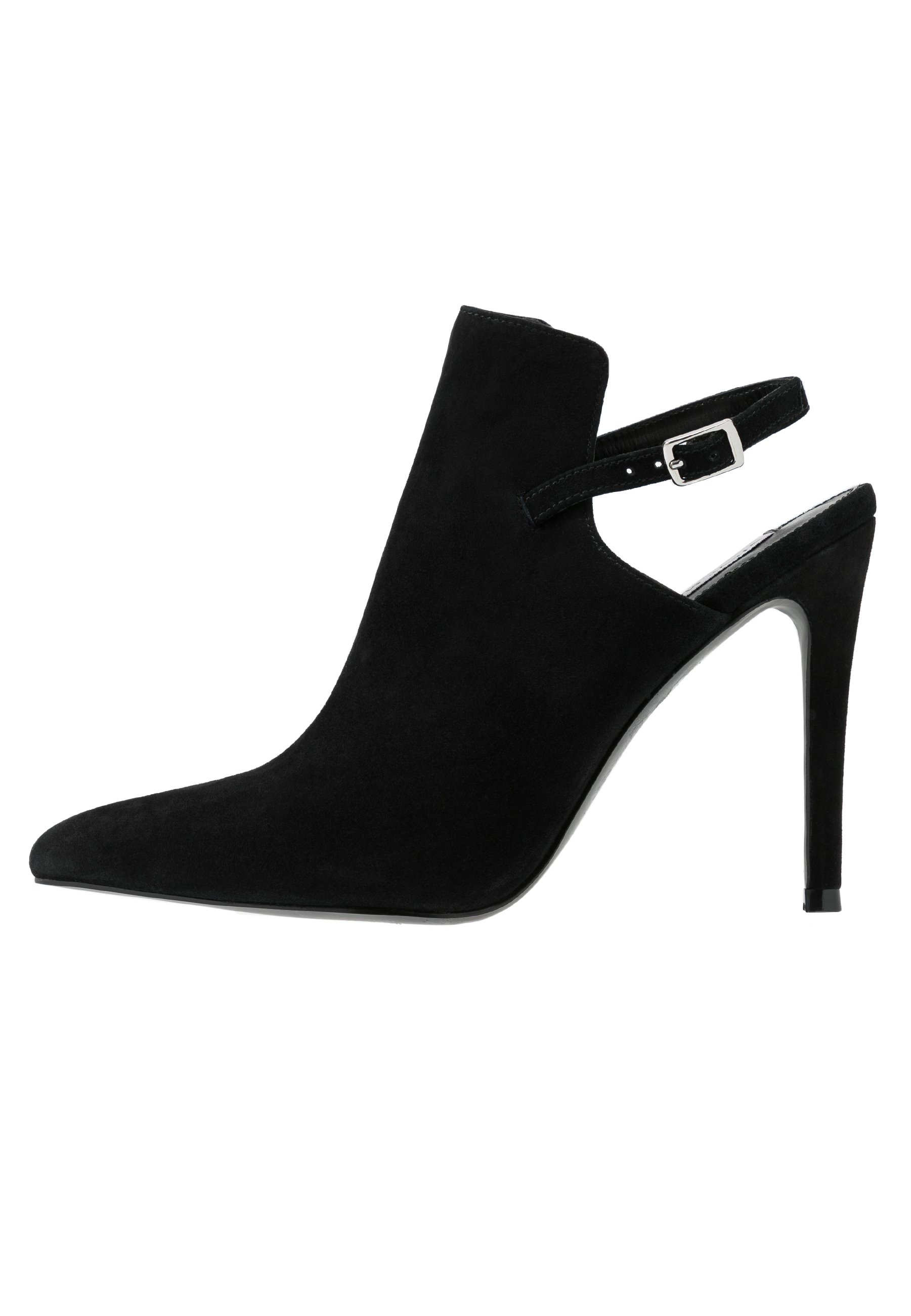 Steve Madden DAILY - High heeled ankle boots - black