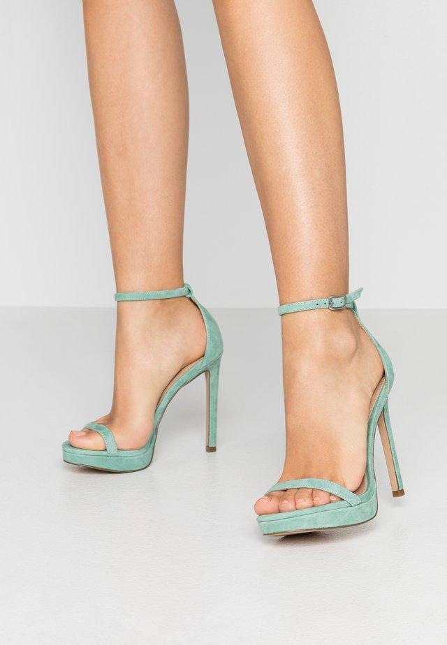 MILANO - Højhælede sandaletter / Højhælede sandaler - mint