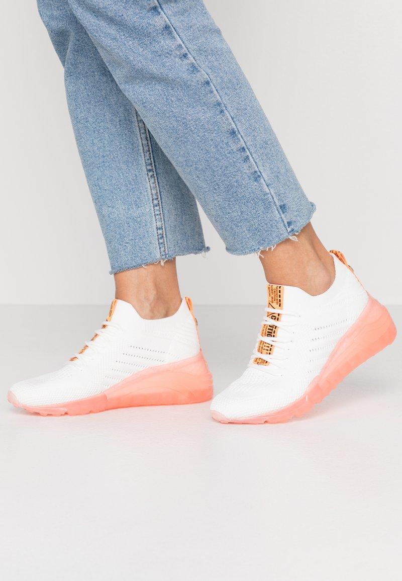 Steve Madden - CELLO - Sneakers - orange/multicolor