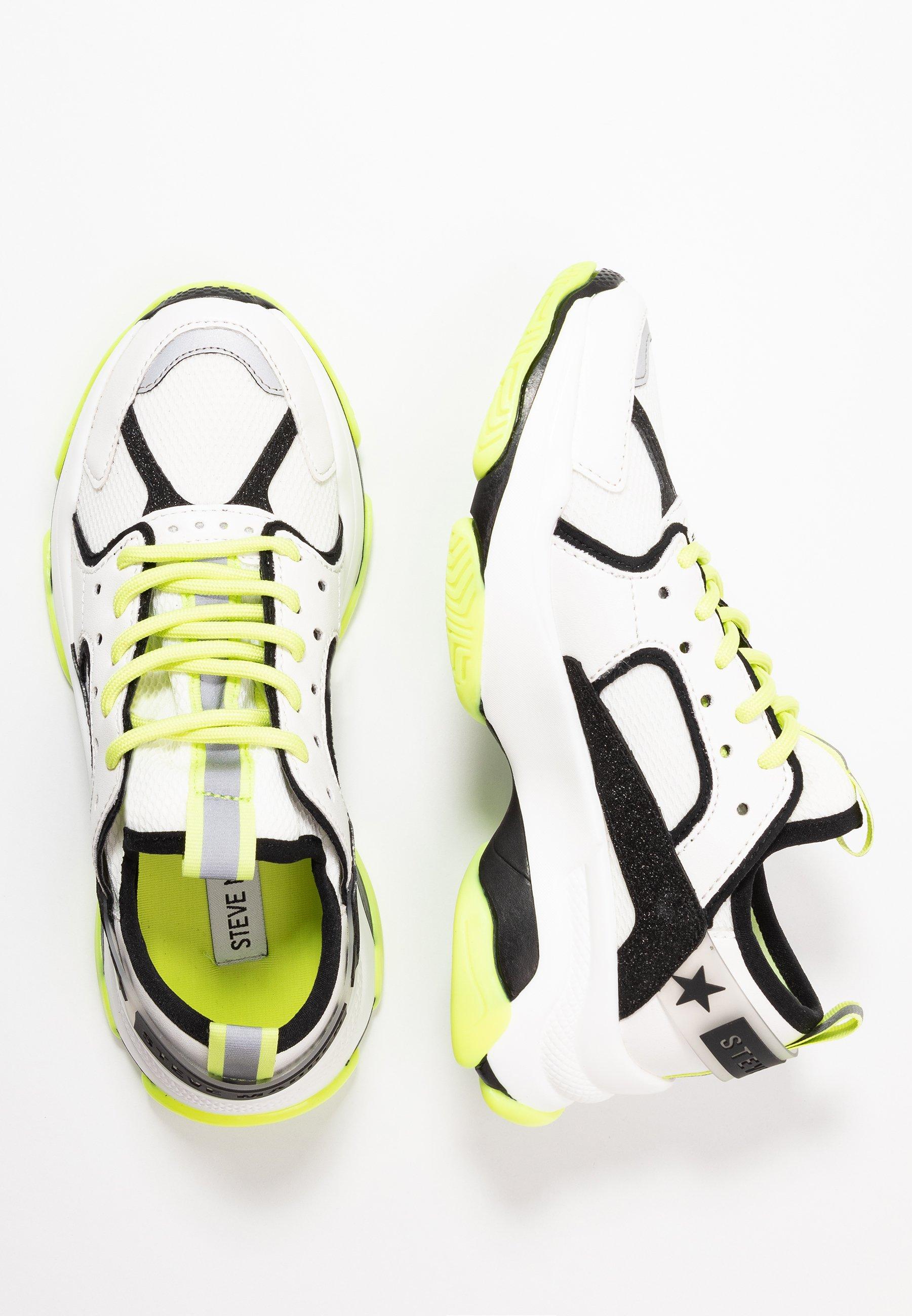 Steve Madden GRADUALLY - Sneakersy niskie - white/multicolor